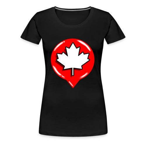 WCL BLACK TSHIRT WOMEN - Women's Premium T-Shirt