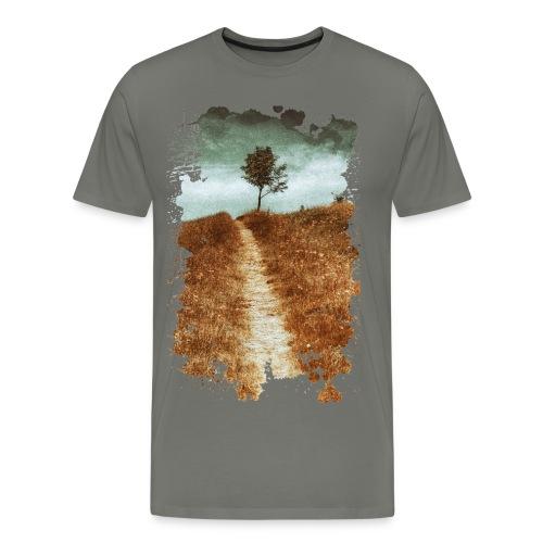 On the way, Men's Premium T-Shirt - Men's Premium T-Shirt