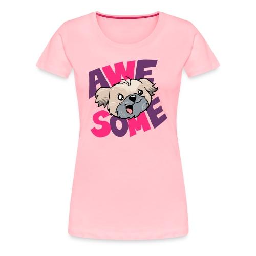Women's Premium T-Shirt_Awesome - Women's Premium T-Shirt