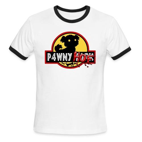 Men's Ringer T-Shirt_P4wny Hof - Men's Ringer T-Shirt