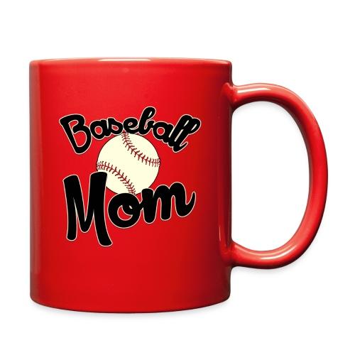 Baseball Mom Mug - Full Color Mug