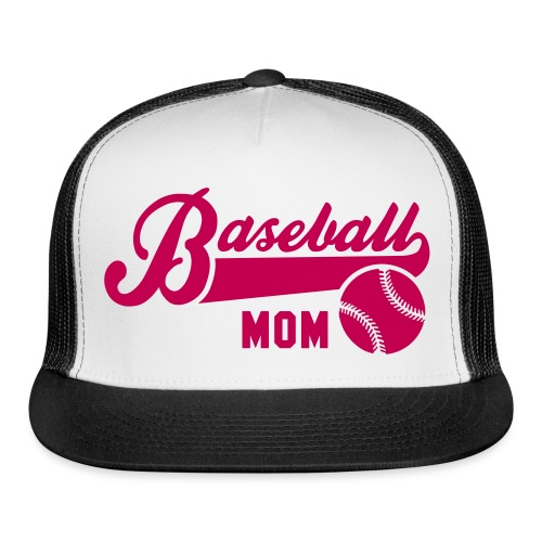 Baseball Mom Hat - Trucker Cap
