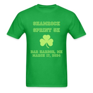 Shamrock Sprint 5k 2024 - Men's T-Shirt