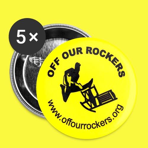 Mellow Yellow Rocker Button - Large Buttons