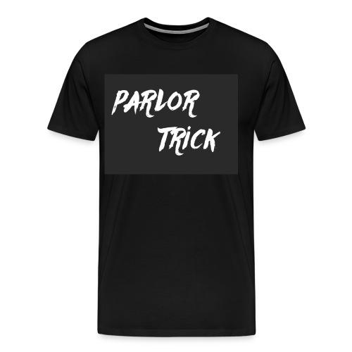 Men's Parlor Trick Logo T-Shirt - Men's Premium T-Shirt