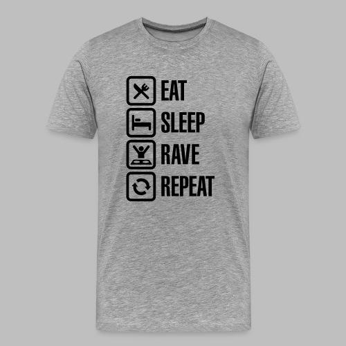 Men's Daily Schedule Shirt - Men's Premium T-Shirt