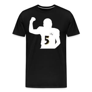 Joe the QB Black - Men's Premium T-Shirt