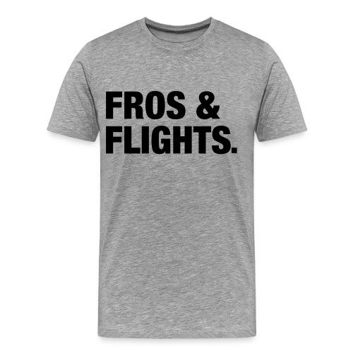 Fros & Flights - Men's Premium T-Shirt