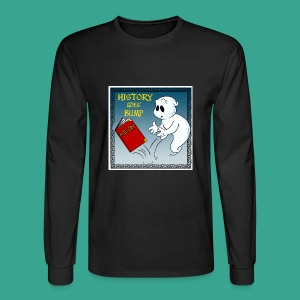 HGB Logo Long Sleeve Men's T-shirt - Men's Long Sleeve T-Shirt
