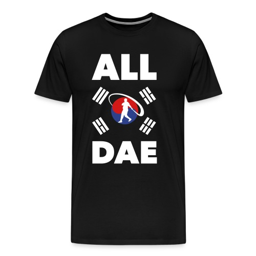 ALL DAE (Korean Flag) - Men's Premium T-Shirt