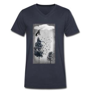 Nostalgia - Men's V-Neck T-Shirt by Canvas