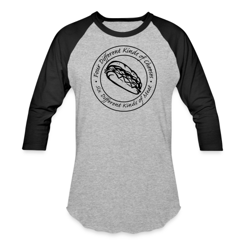'Sub Hero'  Men's Baseball Tee - Baseball T-Shirt