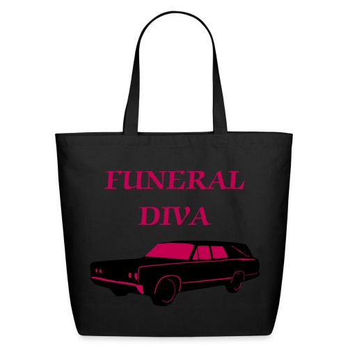 Funeral Diva Tote - Eco-Friendly Cotton Tote