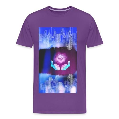 Eye of the city - Men's Premium T-Shirt