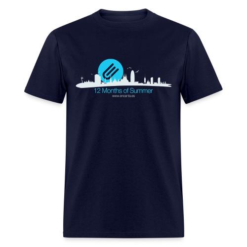 Barcelona 12 Months of Summer - Men's T-Shirt