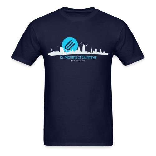 Barcelona 12 Months of Summer - Men's T-Shirt