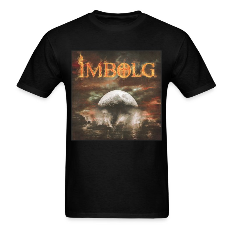 Imbolg Album Men's shirt in Black  - Men's T-Shirt