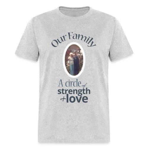 Our Family - Gray - Men's T-Shirt