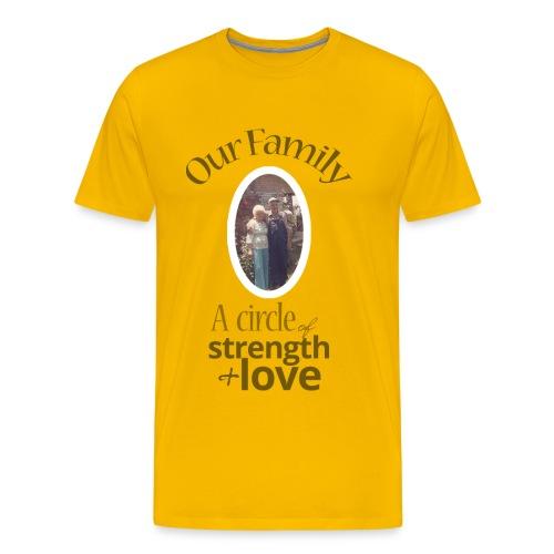 Our Family - Yellow - Men's Premium T-Shirt