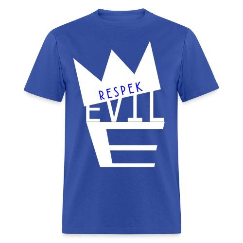 Evil E Blue tee - Men's T-Shirt