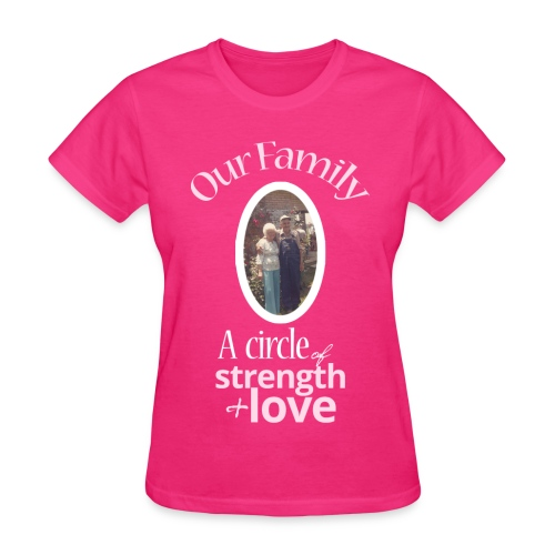 Our Family - Pink - Women's T-Shirt