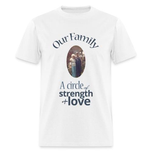 Our Family - White - Men's T-Shirt