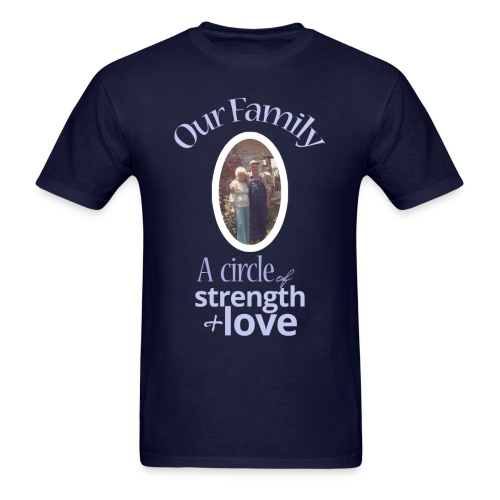 Our Family - Navy - Men's T-Shirt