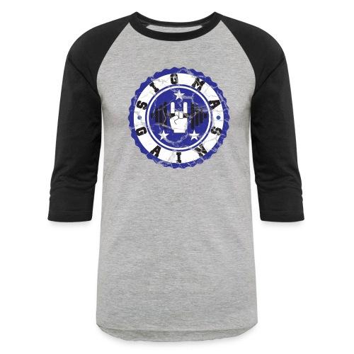 Sigma Gains Workout Shirt - Baseball T-Shirt