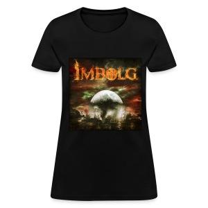 Imbolg Women's Album T-Shirt in Black - Women's T-Shirt