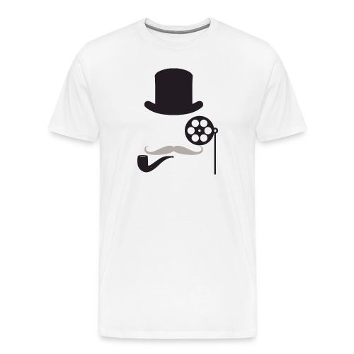 Men's Filmlosophers Monocle Tee - Men's Premium T-Shirt