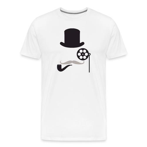 Men's Filmlosophers Monocle Tee - Men's Premium T-Shirt