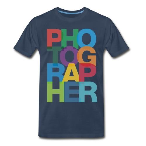 Photographer Tee - Sixmic Films - Men's Premium T-Shirt