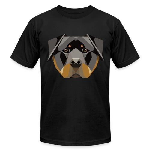 Geometric Rottweiler T-Shirt - Mens - Men's Fine Jersey T-Shirt