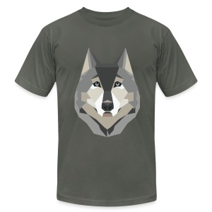Geometric Husky T-Shirt - Mens - Men's Fine Jersey T-Shirt
