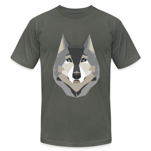 Geometric Husky T-Shirt - Mens - Men's Fine Jersey T-Shirt