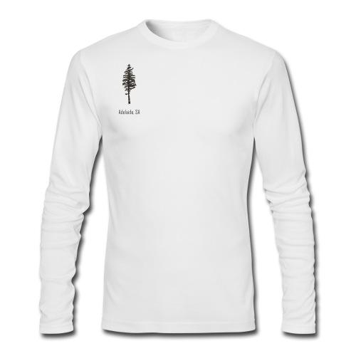Adelaide SA, Men's Long Sleeve - Men's Long Sleeve T-Shirt by Next Level