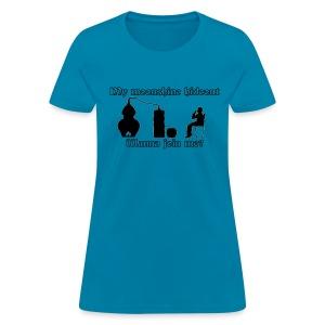 Moonshine hideout - Women's T-Shirt