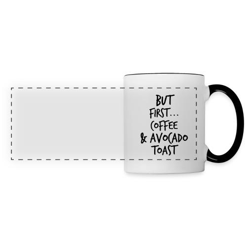 Avocado Toast Mug - Panoramic Mug