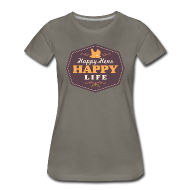 Women's T-Shirts ~ Women's Premium T-Shirt ~ Happy Hens, Happy Life