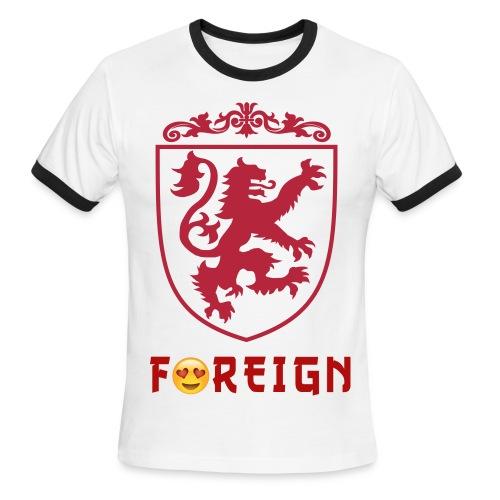 FOREIGN LOVE  - Men's Ringer T-Shirt