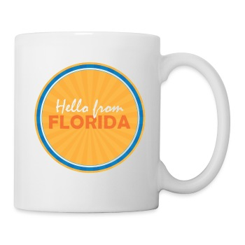 Hello From Florida Mug - Coffee/Tea Mug