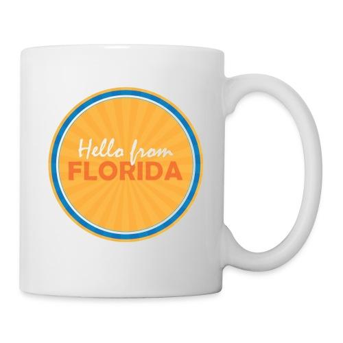 Hello From Florida Mug - Coffee/Tea Mug