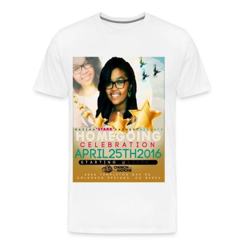 RAZIAH BARNES-JACKSON - Men's Premium T-Shirt
