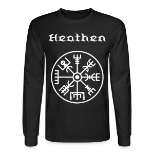 Men's Long Sleeve T-Shirt - vegvisir,Heathen