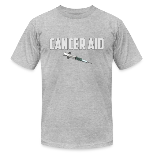 The Cancer Aid - Men's Fine Jersey T-Shirt