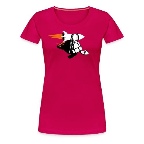 Rocket Tortoise - Women's - Women's Premium T-Shirt