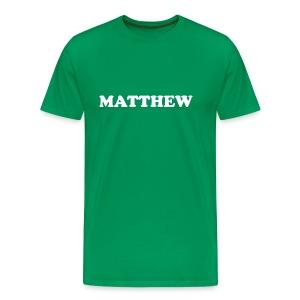 Matthew Shirt - Men's Premium T-Shirt