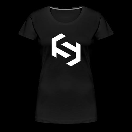 Women's T-Shirt (White Design) - Women's Premium T-Shirt