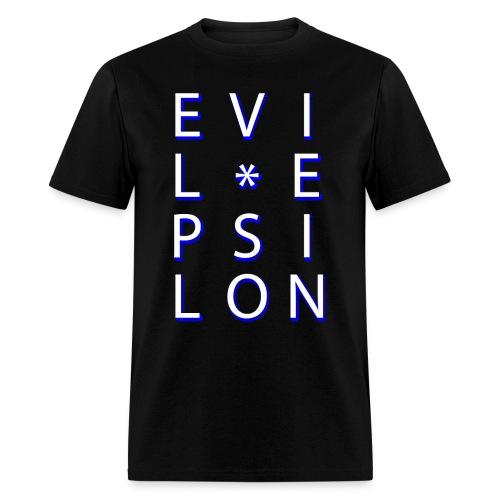 Evil Epsilon Tee - White - Men's T-Shirt