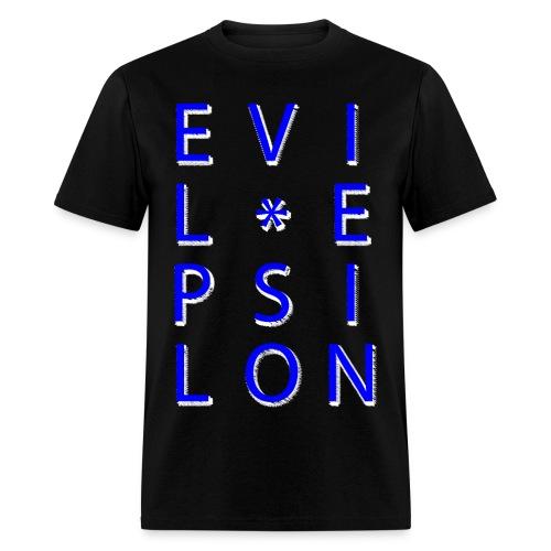 Evil Epsilon Tee - Blue - Men's T-Shirt